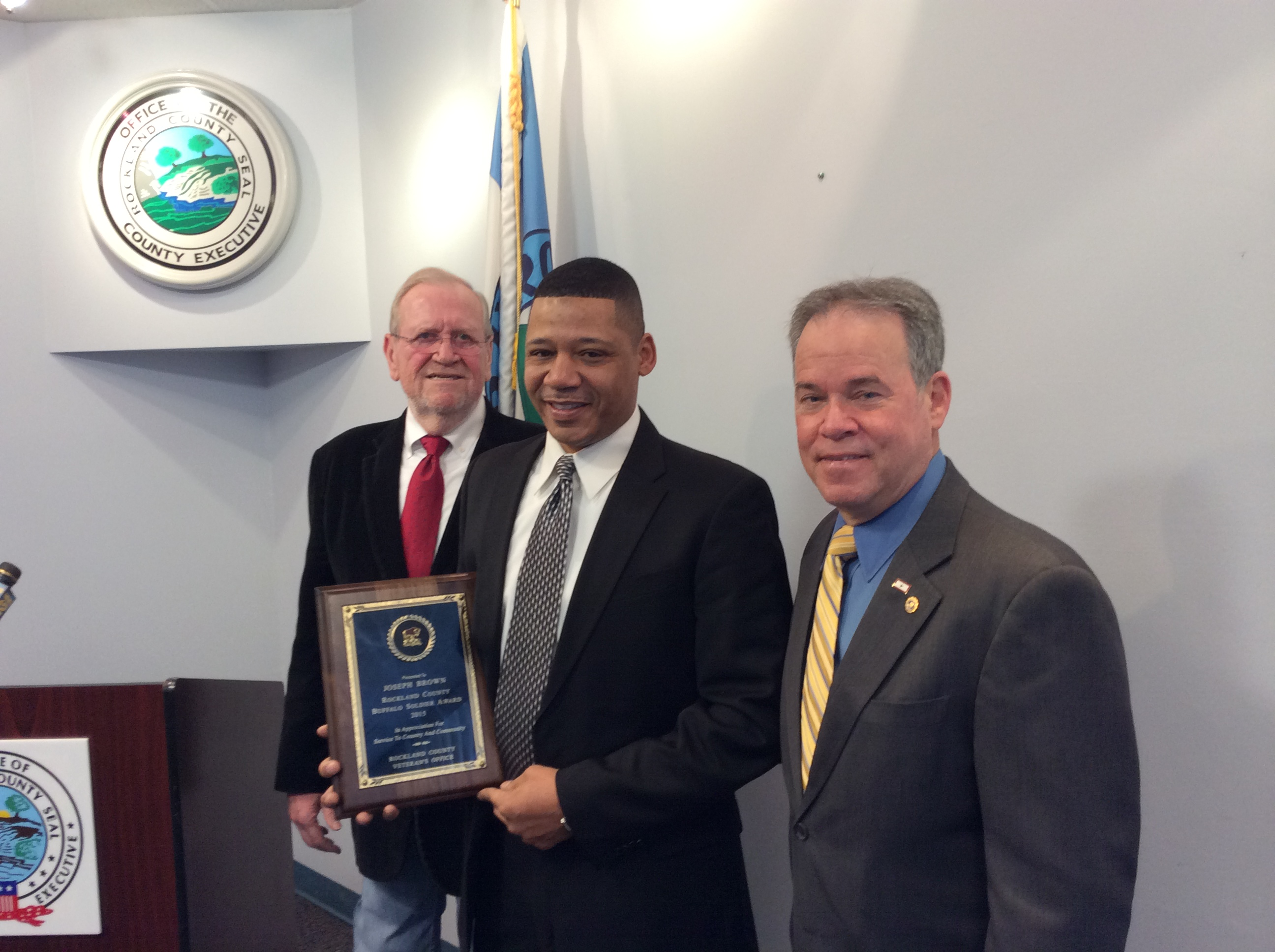 New City Resident Receives 2015 Buffalo Soldier Award