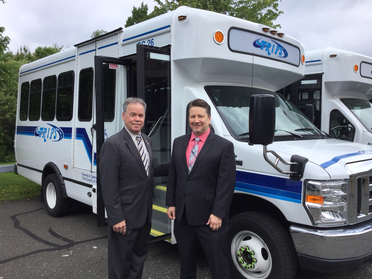 Get Onboard!  New TRIPS Paratransit Buses Hit The Road