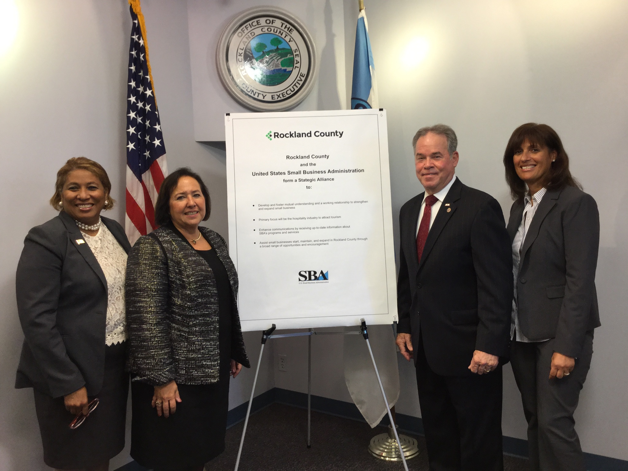 Rockland County Joins Forces With U.S. Small Business Administration