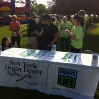 Photo taken at Donate Life campaign