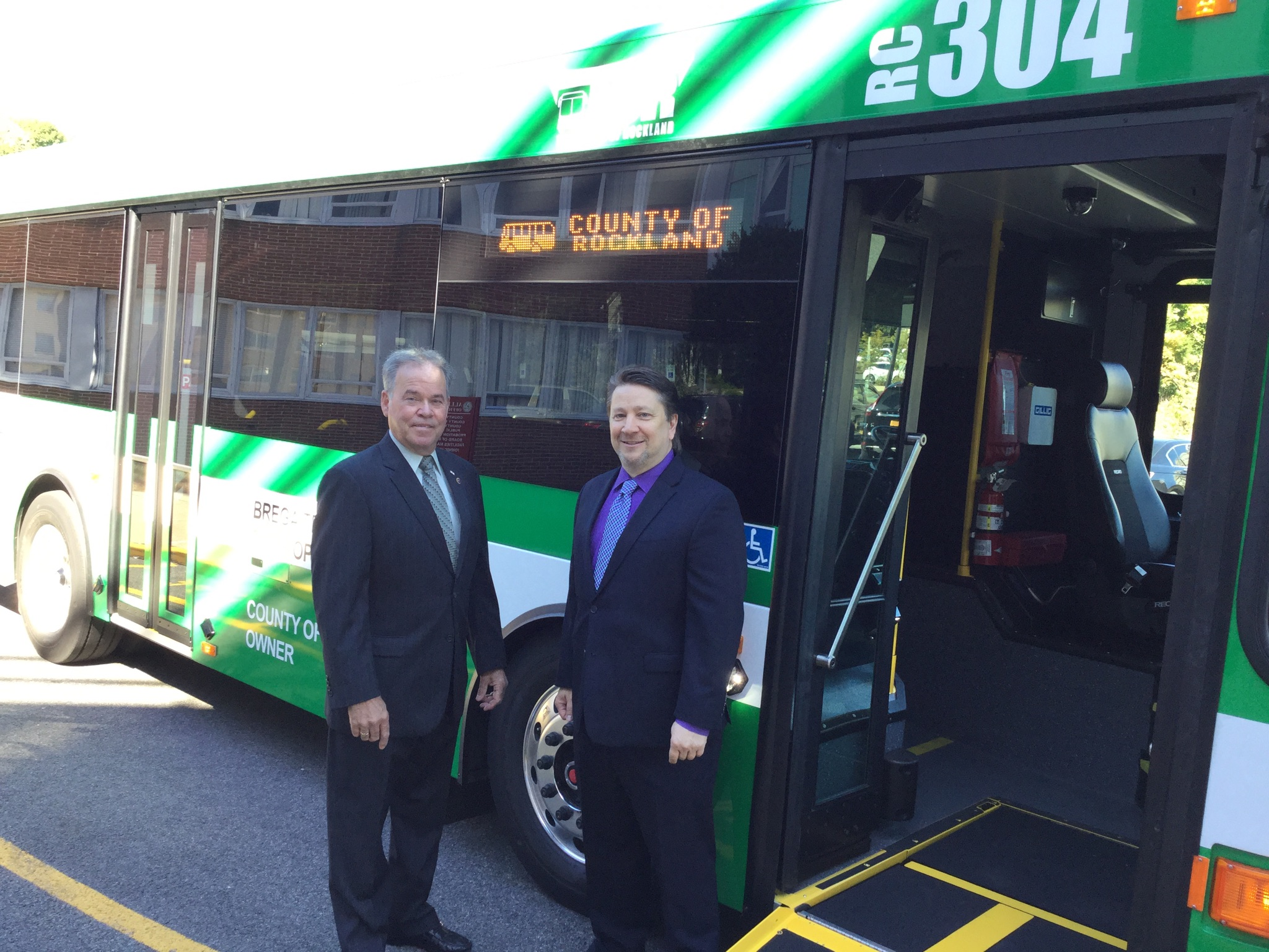 Transport Of Rockland Rolls Out New Buses!