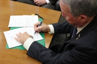 County Executive Ed Day Signs Exemption for Cold War Veterans and an Alternative Veterans Exemption