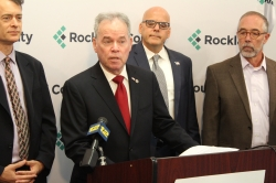 County Executive Ed Day - Shared Services Press Conference