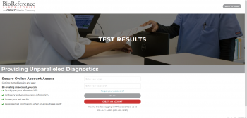BioReference Test Results