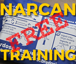NARCAN Training, April 29th<br /><br />Free Training & Free Kit<br /><br /><b>Reserve a seat now!</b><br /><br />