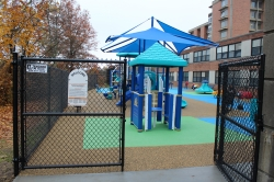 Family Visitation Playground Opens