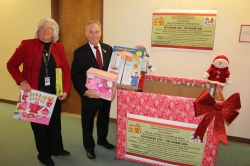 3rd Annual DSS Toy and Clothing Drive