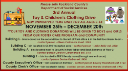 3rd Annual DSS Toy and Clothing Drive - Flyer PDF