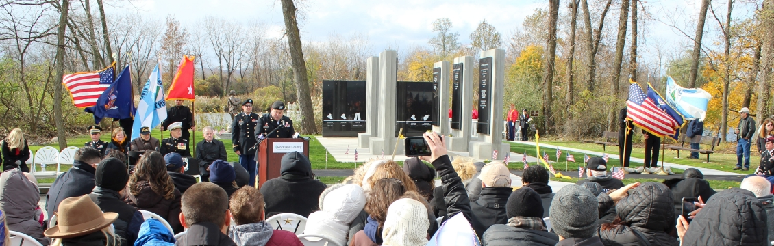 Dedication of Gulf War/War on Terror Monument