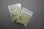 Photo of 2 bags of marijuana